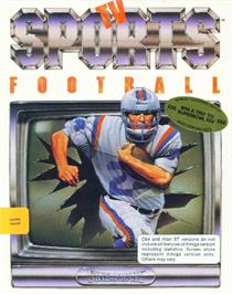 Box cover for TV Sports: Football on the Commodore 64.