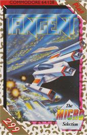 Box cover for Tangent on the Commodore 64.