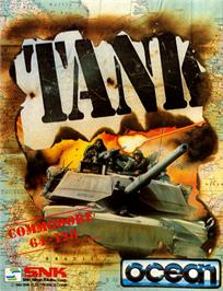Box cover for Tank on the Commodore 64.