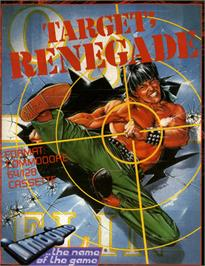 Box cover for Target: Renegade on the Commodore 64.