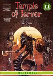 Box cover for Temple of Terror on the Commodore 64.