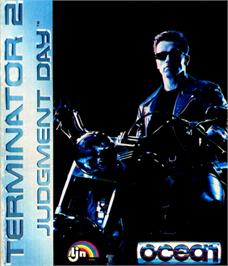 Box cover for Terminator 2: Judgment Day on the Commodore 64.