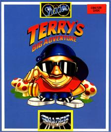 Box cover for Terry's Big Adventure on the Commodore 64.