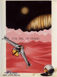 Box cover for The Arc of Yesod on the Commodore 64.