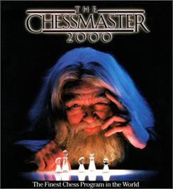 Box cover for The Chessmaster 2000 on the Commodore 64.