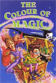 Box cover for The Colour of Magic on the Commodore 64.