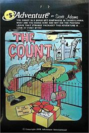 Box cover for The Count on the Commodore 64.