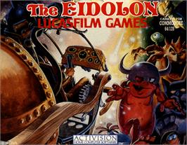 Box cover for The Eidolon on the Commodore 64.