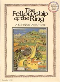 Box cover for The Fellowship of the Ring on the Commodore 64.
