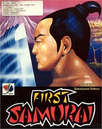 Box cover for The First Samurai on the Commodore 64.