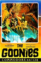 Box cover for The Goonies on the Commodore 64.