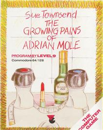 Box cover for The Growing Pains of Adrian Mole on the Commodore 64.