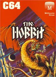 Box cover for The Hobbit on the Commodore 64.