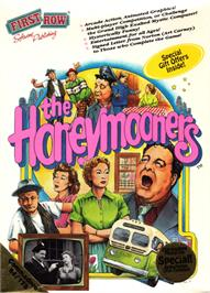 Box cover for The Honeymooners on the Commodore 64.