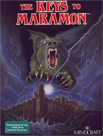 Box cover for The Keys to Maramon on the Commodore 64.