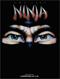 Box cover for The Last Ninja on the Commodore 64.