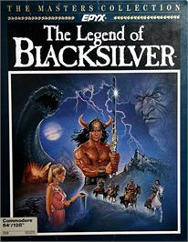Box cover for The Legend of Blacksilver on the Commodore 64.