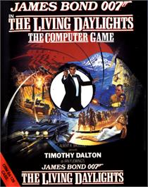 Box cover for The Living Daylights on the Commodore 64.