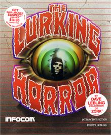 Box cover for The Lurking Horror on the Commodore 64.