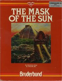 Box cover for The Mask of the Sun on the Commodore 64.