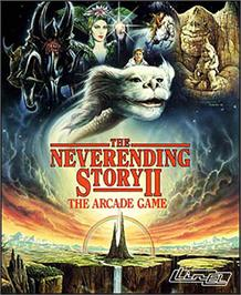 Box cover for The Neverending Story II on the Commodore 64.
