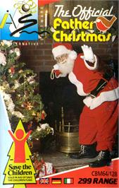 Box cover for The Official Father Christmas on the Commodore 64.