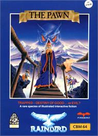 Box cover for The Pawn on the Commodore 64.