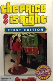 Box cover for The Price is Right on the Commodore 64.