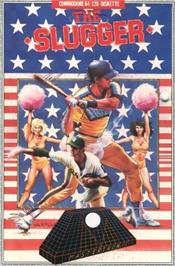 Box cover for The Slugger on the Commodore 64.
