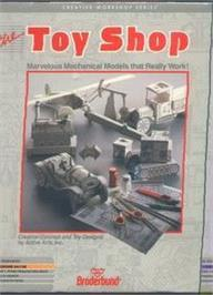 Box cover for The Toy Shop on the Commodore 64.