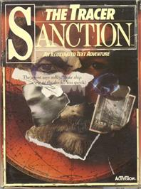 Box cover for The Tracer Sanction on the Commodore 64.
