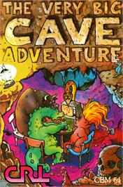 Box cover for The Very Big Cave Adventure on the Commodore 64.