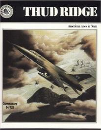 Box cover for Thud Ridge: American Aces in 'Nam on the Commodore 64.