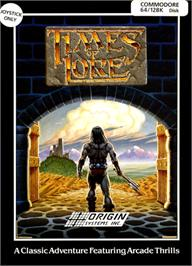 Box cover for Times of Lore on the Commodore 64.