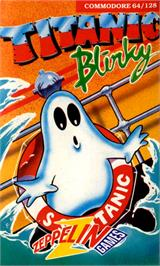 Box cover for Titanic Blinky on the Commodore 64.
