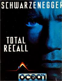 Box cover for Total Recall on the Commodore 64.