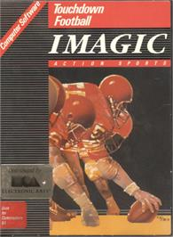 Box cover for Touchdown Football on the Commodore 64.