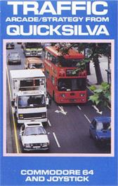 Box cover for Traffic on the Commodore 64.