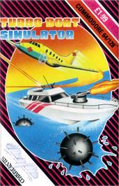 Box cover for Turbo Boat Simulator on the Commodore 64.