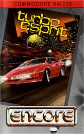 Box cover for Turbo Esprit on the Commodore 64.