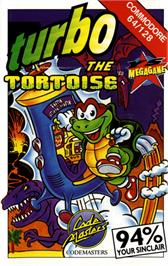 Box cover for Turbo the Tortoise on the Commodore 64.