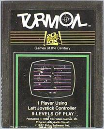 Box cover for Turmoil on the Commodore 64.