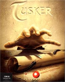 Box cover for Tusker on the Commodore 64.