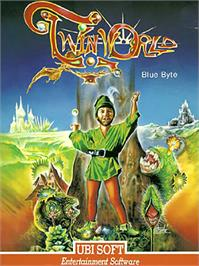 Box cover for TwinWorld: Land of Vision on the Commodore 64.