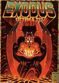 Box cover for Ultima III: Exodus on the Commodore 64.