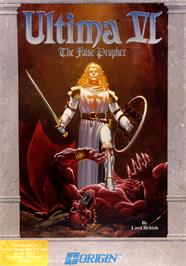 Box cover for Ultima VI: The False Prophet on the Commodore 64.