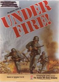 Box cover for Under Fire on the Commodore 64.