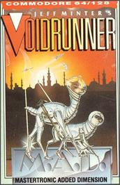 Box cover for Voidrunner on the Commodore 64.
