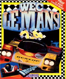 Box cover for WEC Le Mans on the Commodore 64.