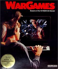 Box cover for WarGames on the Commodore 64.